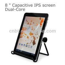 high configuration 8 inch free sample tablet pc with front and back camera