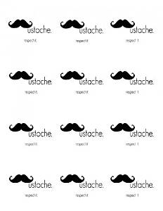 Single Source Party Supply - Moustache Cupcakes Edible Icing Image #3