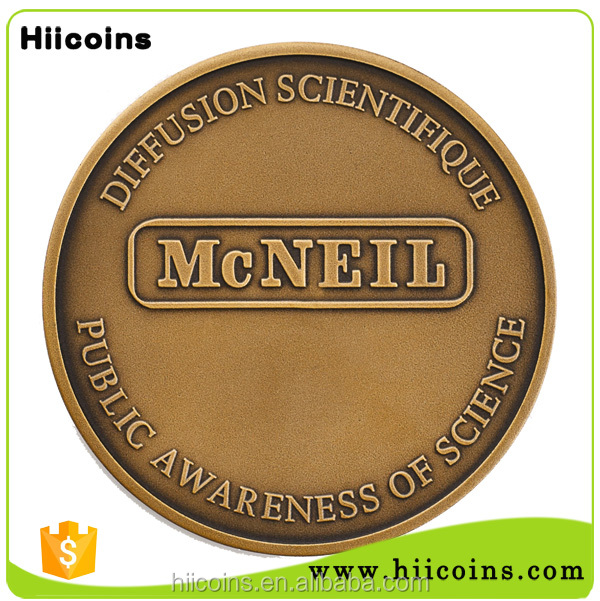 custom metal copies of coins Wholesale blank coins