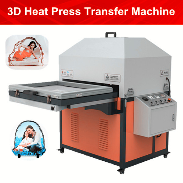 3D Sublimations-Vakuumhitzepressemaschine