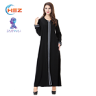Zakiyyah TH902 Abaya Manufacturers In Uae Indian Clothing Women Long Sleeve Dresses For Evening Party