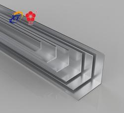 Industrial Aluminum Extrusion Alloy Spplier / Aluminum Exturded L Shaped Profile / Extruded Aluminium Angle Bar factory