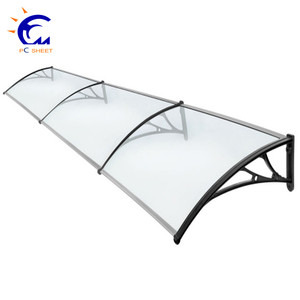 Outdoor Retractable Sun Shade Awnings With Electric Motor Control Switch