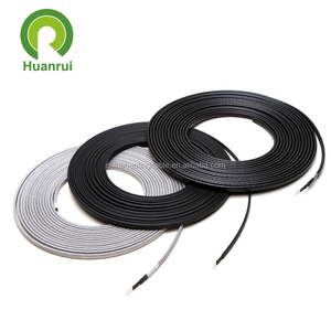 Watery Resistant Self Regulating Pipe Deicing Soil Heating Cable