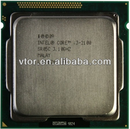 2014 Low Price Intel Core i3-2100T 2.5GHz R05Z 3MB Socket 1155 Used Processor i3