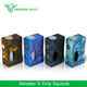 Heaven Gifts Big Fire button for easy operation 7ml ecig Squonk box mod Aleader X-Drip