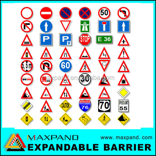Custom Road Safety High Quality Cheap Plastic Traffic Signs
