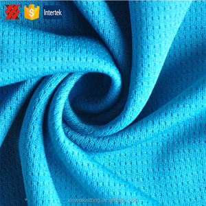 China exporting 100%polyester waterproof jersey mesh fabric for sports clothes
