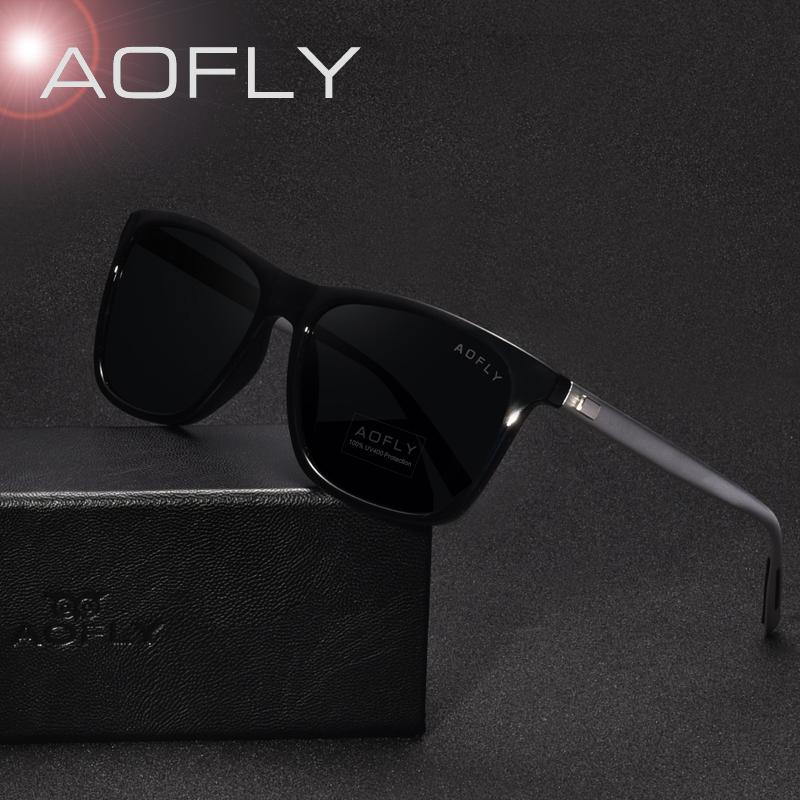 6423928a881 AOFLY Classic Polarized Sunglasses Fashion Style Sun Glasses for Men Women  Vintage Brand Design oculos