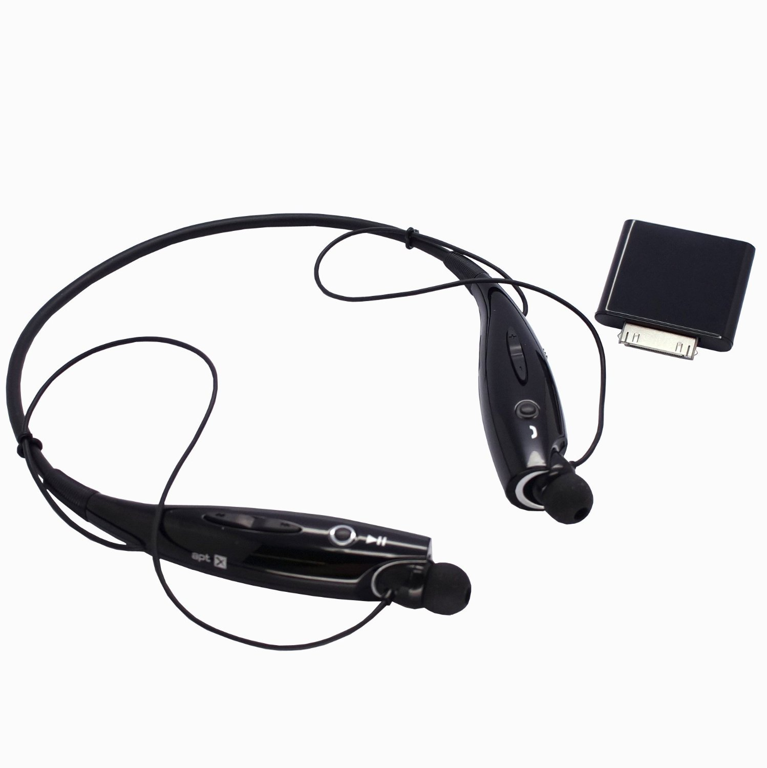 CyberTech Bluetooth Bundle includes Wireless Bluetooth Stereo Earphone Headset with Mic and Ipod Bluetooth Transmitter