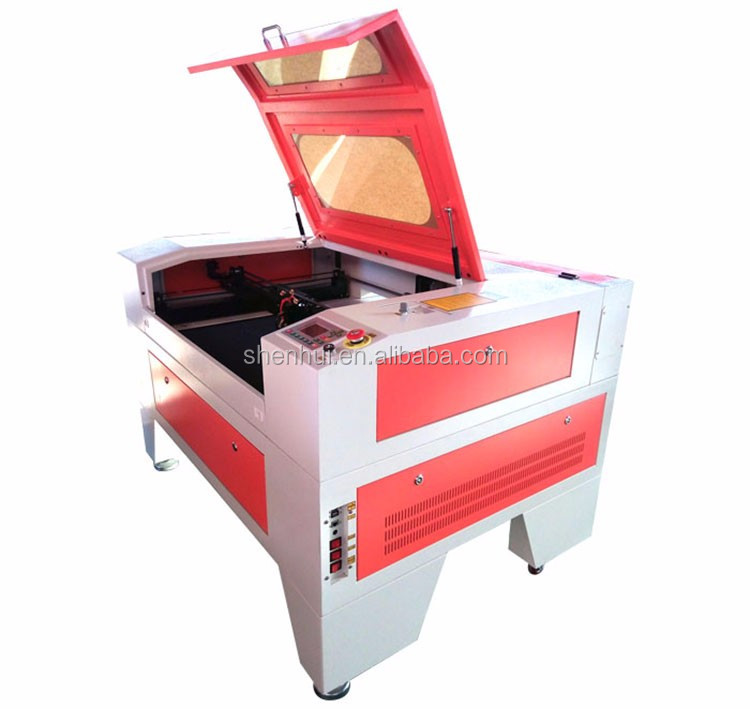 red dot shoes industry laser cutting machine