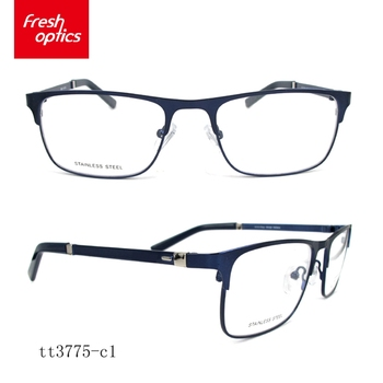 e90a8b5dca TT3775 Latest fashion stainless steel eyeglass frames gentleman glasses  frame eyewear