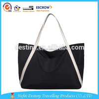 fashion waterproof large travel outdoor lady Leisure tote bag
