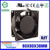 PBT Plastic water proof water cooling fan for colorful control system
