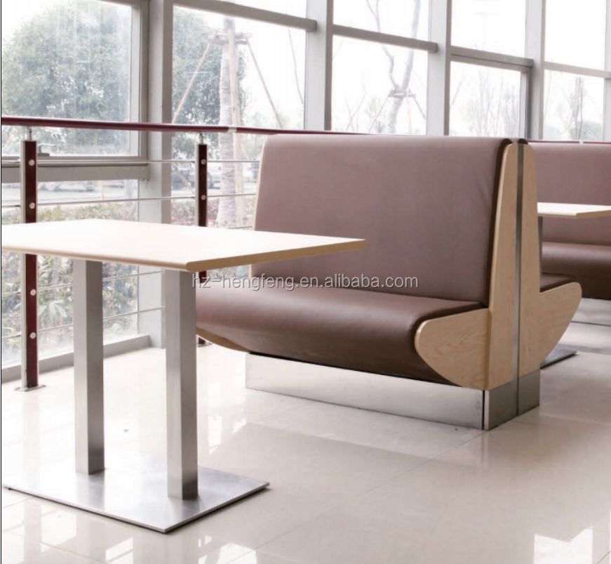 Contemporary Commercial Restaurant Sofas Leather Booth Modern Seating Product On Alibaba