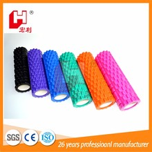 Professional genuine hollow special half gear shape eva foam yoga roller