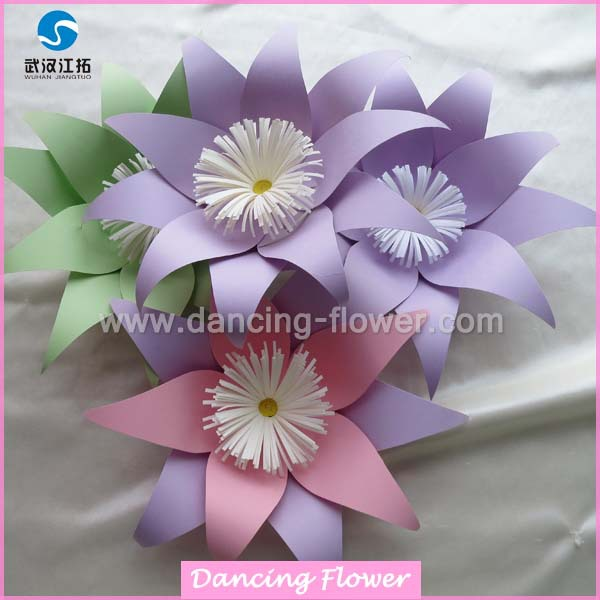 Manufacture china paper flower jiangtuo brand different size and manufacture china paper flower jiangtuo brand different size and colors small paper flower mightylinksfo