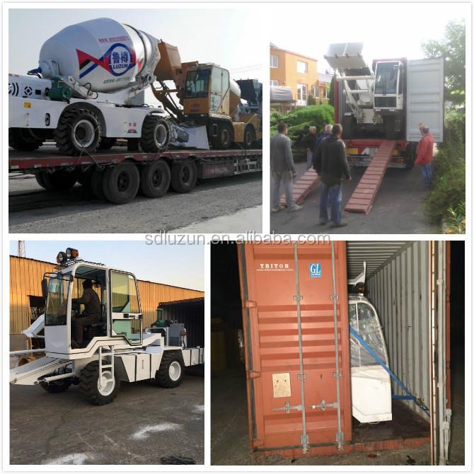 transit mixer shipment