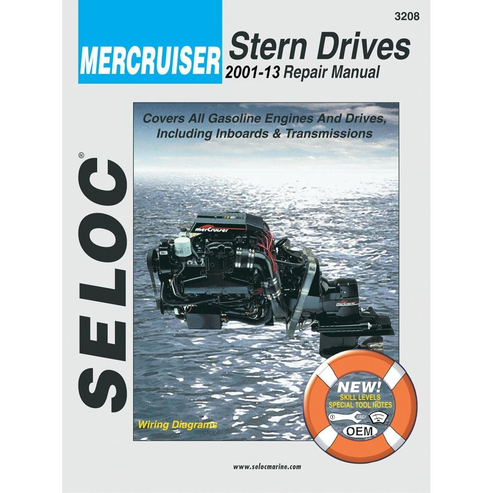 Get Quotations · new SELOC SERVICE MANUAL Mercruiser Stern Drive 2001-08