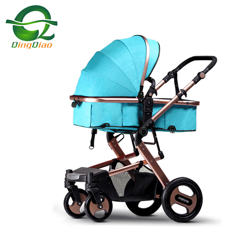 2019 Aluminum Eco-friendly en1888 Travel Luxury 3 in 1 baby stroller and car seat for 0-3 Year baby prams