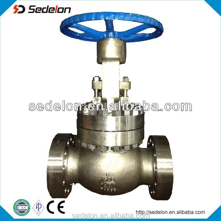 Forged steel threaded Globe Valve gate valve check valve 1500lb