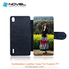Sublimation blank leather phone case for Huawei P7