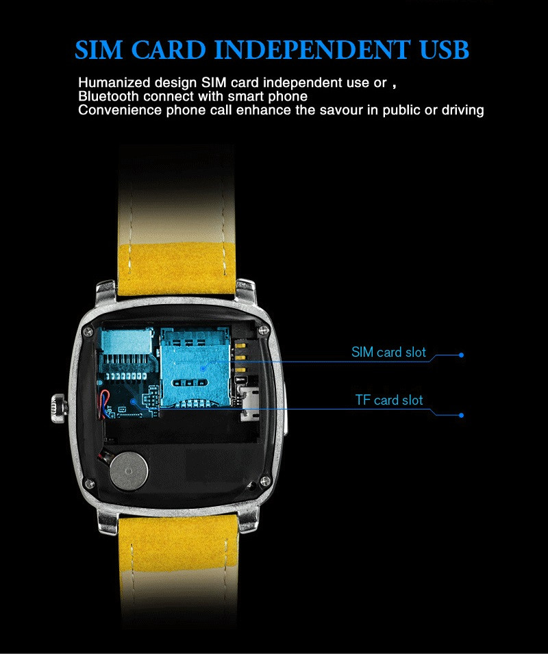 The best smart watch mobile phone on the whole market wrist watch phone for android