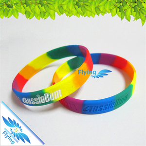 2018 hot sale Custom Printing, multi-color Silicone Make Hand Bands Cheap custom silicone hand band silicone hand bracelet