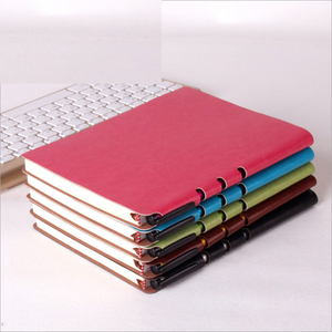Exquisite notepad office stationery notebook leather diary