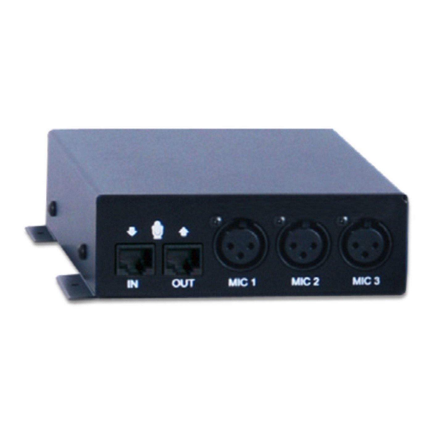 ClearOne Interact MIC EX | 3 XLR Microphone Inputs Breakout Box for Interact AT 910-154-020