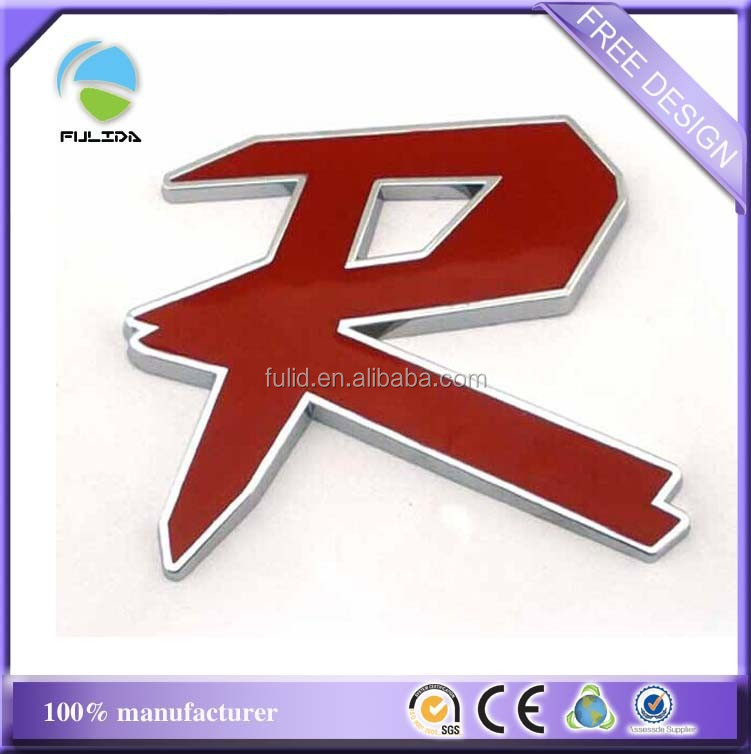 Factory Supply ABS Car Emblem And Letters