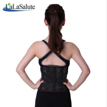 High elastic waist support lumbar fastening belt body shaper