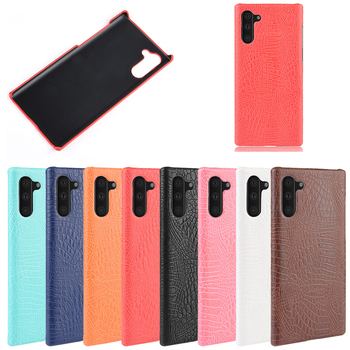 luxury phone case cover Alligator Pattern leather +PC case phone cover for samsung galaxy note 10  case