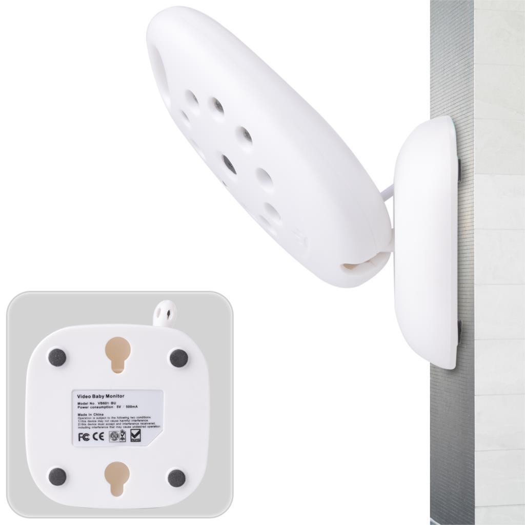 Беспроводной цифровой жк-монитор младенца камера аудио видео ночного видения белый AH006 - SZ