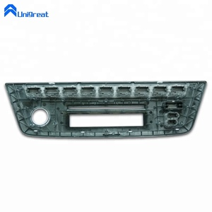 Medical upper ABS plastic cover with window injection mold