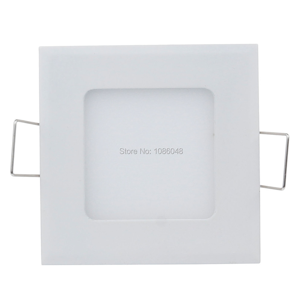 HOT sale Square led panel light ulter thin 3W/4W/6W/9W/12W/15W/18W/25W led ceiling lamp white or warm white