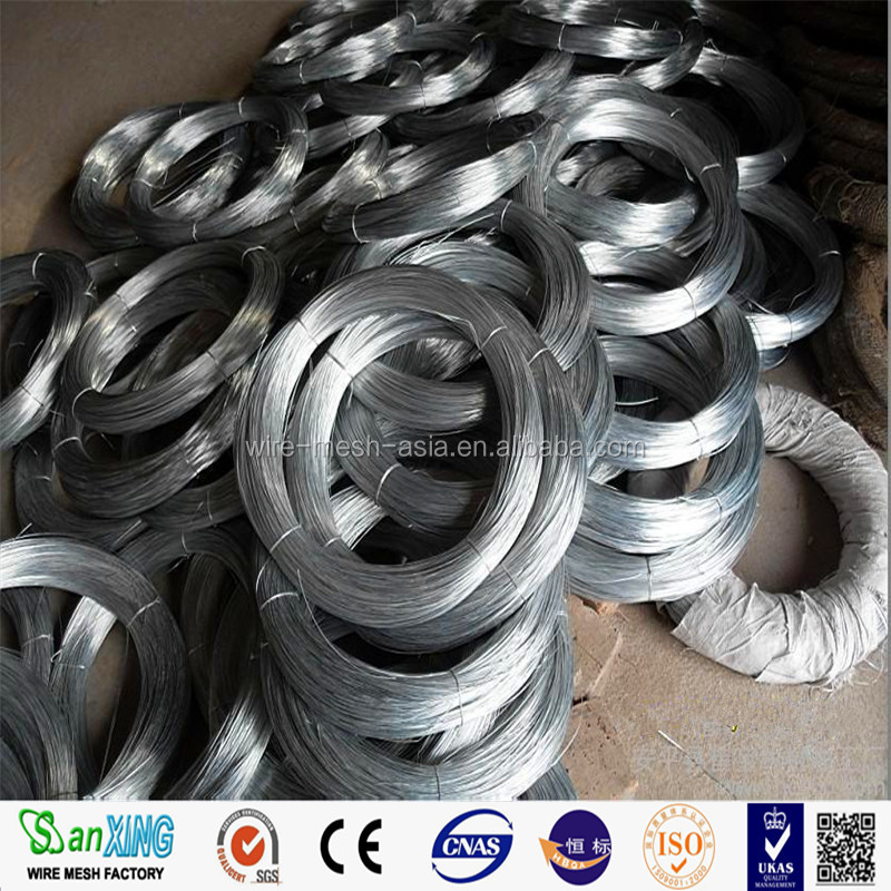 Big Coil Galvanized Iron Wire/Electro Galvanized Iron Wire Rod in China