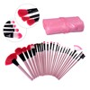 Kiss beauty professional Pro 24pcs makeup brush with Comestic bag for 2017 resale