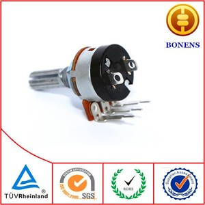 WH148 linear rotary 10k potentiometer with switch