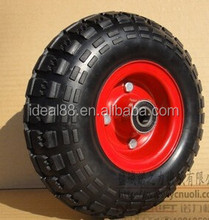 Jiaonan 3 Inch Solid Small Mini Kids Ride Rubber Wheels