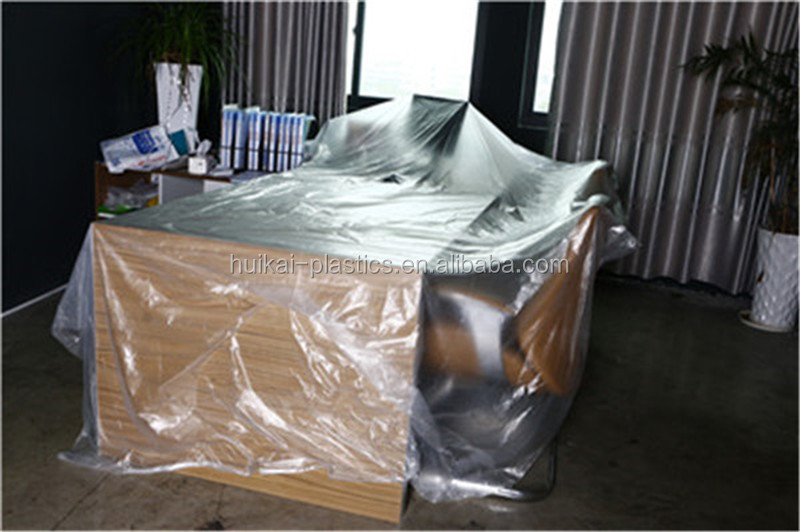 heavy duty marketing products plastic drop cloth ldpe film scrap masking plastic for painting