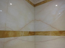 60x60cm, 80x80cm size Double charge 2013 new design flooring tile white marble crema marfil polished porcelain tile