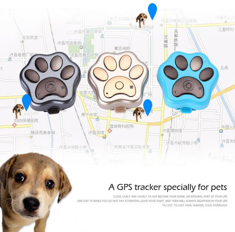 Factory Waterproof IP66 Real-Time Tracking 3G Pet GPS Tracker With Four Locating Ways