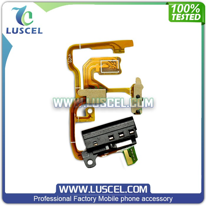 Original quality Earphone flex cable for IPod Shuffle,Audio jack flex cable for IPod Shuffle