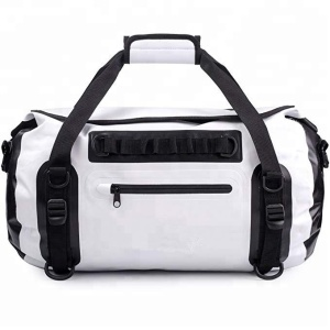 Roll-Top Dry Bag 35L Welded Seams Waterproof Duffel Bag Backpack