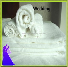 New arrival white cotton towel for hotel with nice quality fron China
