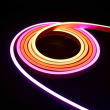 Dream color digital neon flex 5m/roll 5050 led ultra thin neon flex rope light