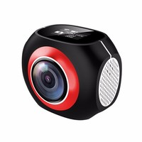 2017 Hot sales 4K 360 video Camera with underwater case 360camera