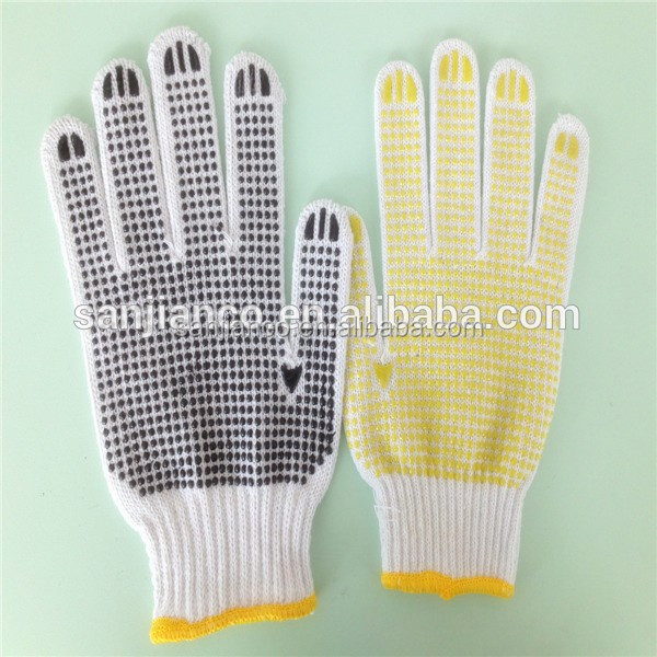Pvc Dot Cotton Glove Kitchen Safety Equipment Ppe Safety Equipment