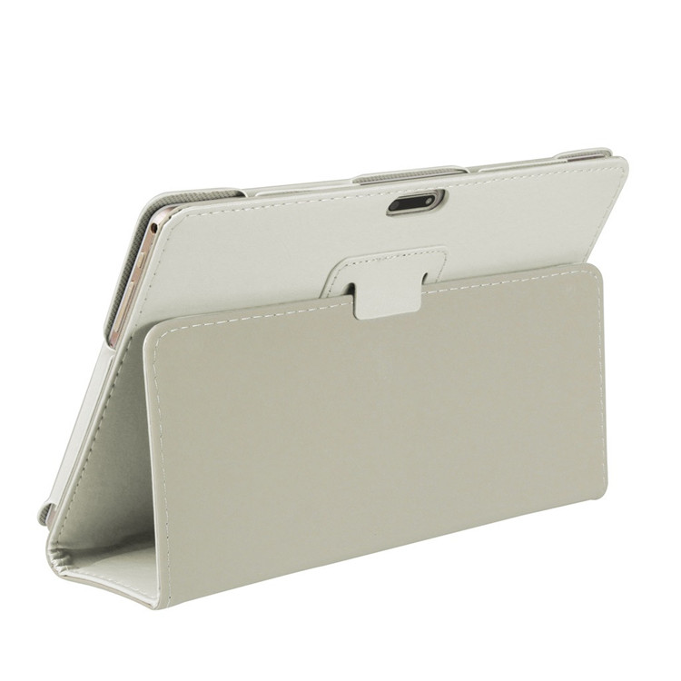 Leather Stand Cover Case For 10 10.1 Inch Android Tablet PC Solid Color Back Cover